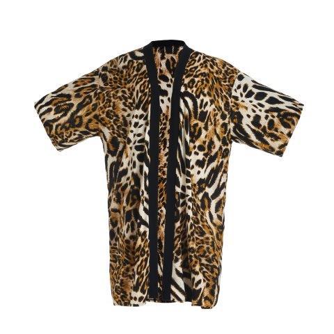 Kimono -Leopard -Beige