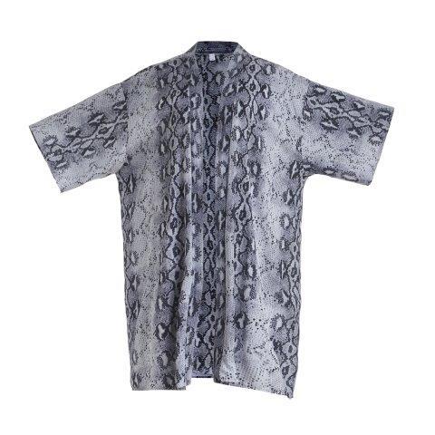 Kimono -Snake-Grey