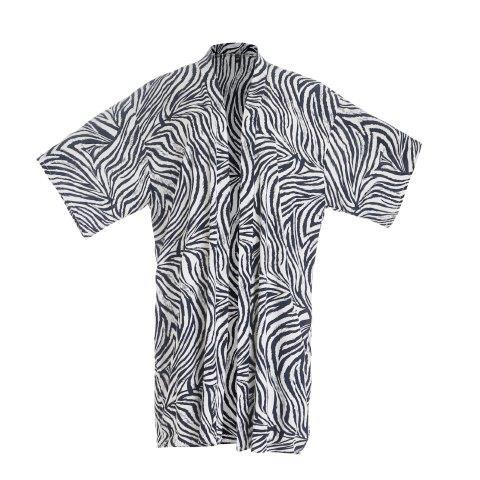 Kimono -Zebra -Black/Grey